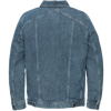SHORT JACKET MID BLUE WASH