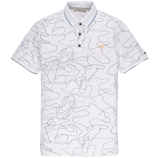 Afbeeldingen van SHORT SLEEVE POLO PIQUE STRETCH