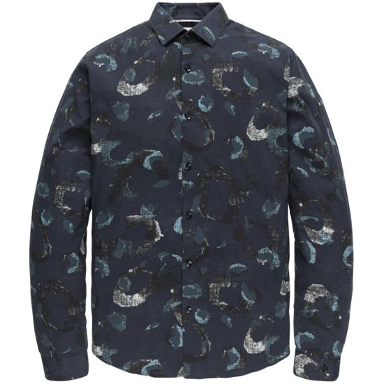 LONG SLEEVE SHIRT PRINT ON POPLIN STRETCH
