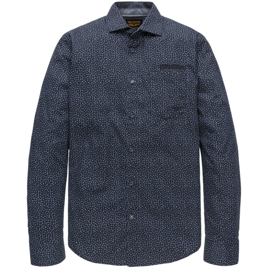 LONG SLEEVE SHIRT ALL-OVER PRINT ON POPLIN FABRIC